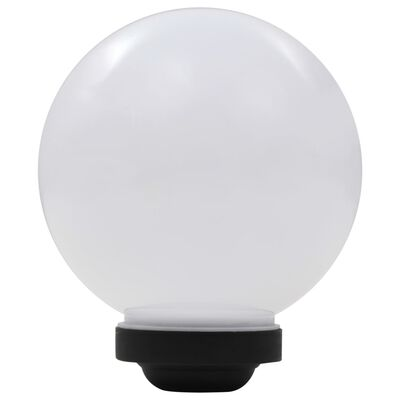 vidaXL Sollampa LED set 3 st sfäriska 20 cm RGB