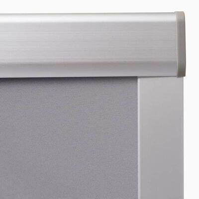 vidaXL Mörkläggande rullgardin grå MK04