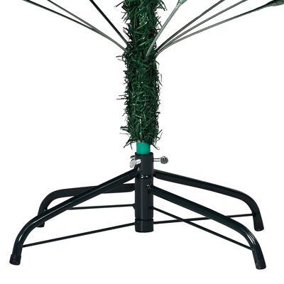 vidaXL Plastgran med tjocka grenar grön 210 cm PVC