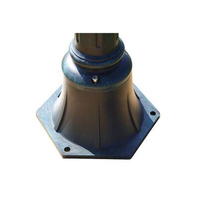 vidaXL Trädgårdslampa Preston 2 st 105 cm