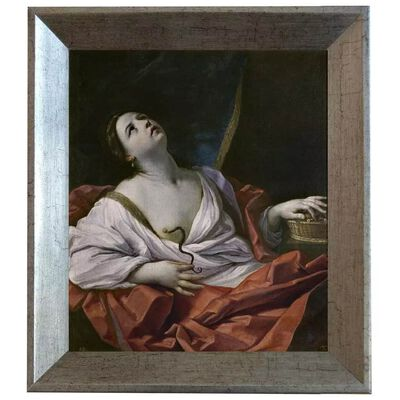 Med ram The Death of Cleopatra,Guido Reni,61x51cm