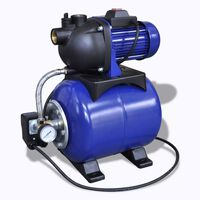 Vattenpump elektrisk 1200W blå