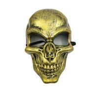 Dödskalle Purge mask maskerad fest party halloween - Gul