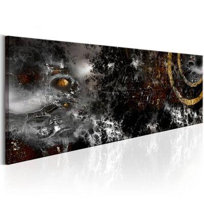 Tavla - Dark Moon - 135x45 Cm,