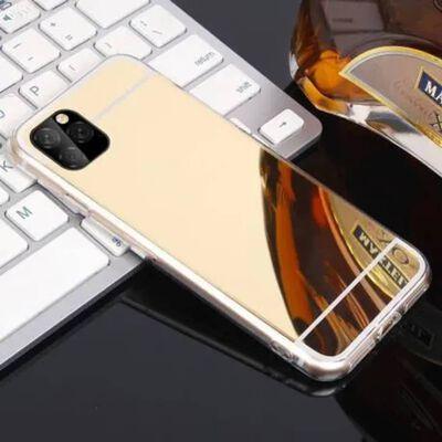 iPhone 12 Pro Max Elegant Stötdämpande Spegelskal TPU,