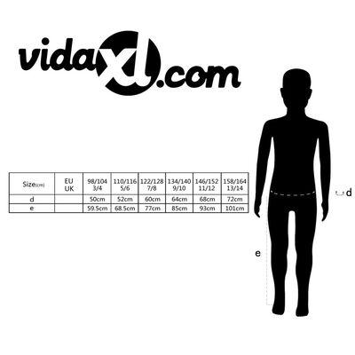 vidaXL Bib overall barn storlek 158/164 grå