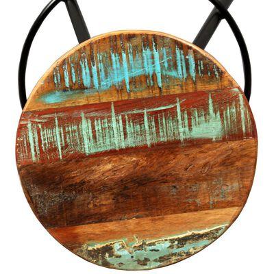 vidaXL Barmöbler 3 delar massiv akacia och återvunnet trä