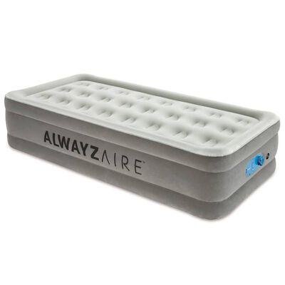 Bestway Luftmadrass AlwayzAire 1 person 191x97x46 cm grå