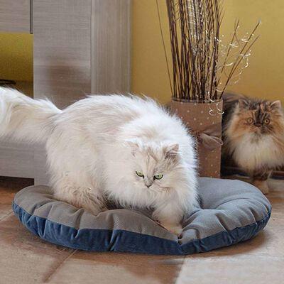 Ferplast Hund- och kattdyna Stuart 65/6 blå