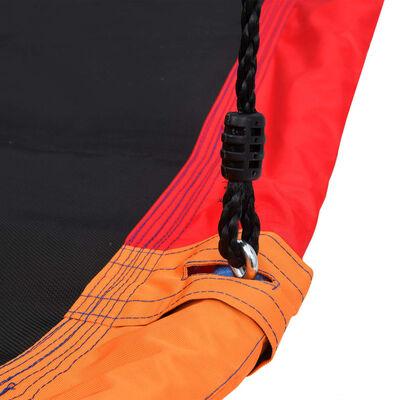 vidaXL Kompisgunga med flaggor 165x70 cm