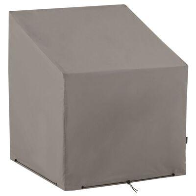Madison Stolsöverdrag 100x100x70 cm grå