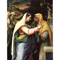 The Visitation, Sebastiano del Piombo,50x40cm