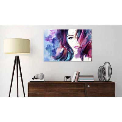 Tavla - Watercolor Girl - 60x40 Cm