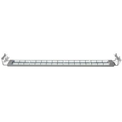 vidaXL Akvarielampa LED 100-110 cm aluminium IP67