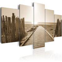 Tavla - Beach Of Memories - 100x50 Cm
