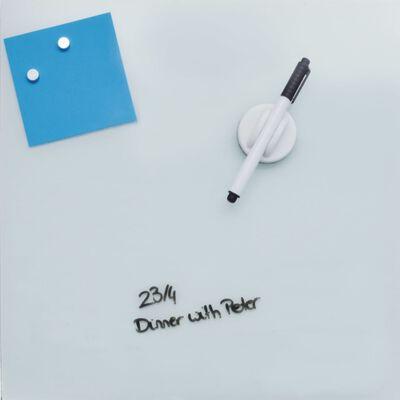 DESQ Magnetisk glastavla 45x45 cm vit
