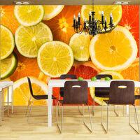 Fototapet - Citrus Fruits - 200x154 Cm