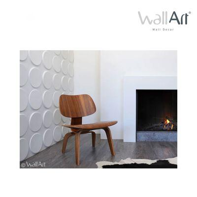 WallArt Väggpanel 3D Ellipses 12 st GA-WA03