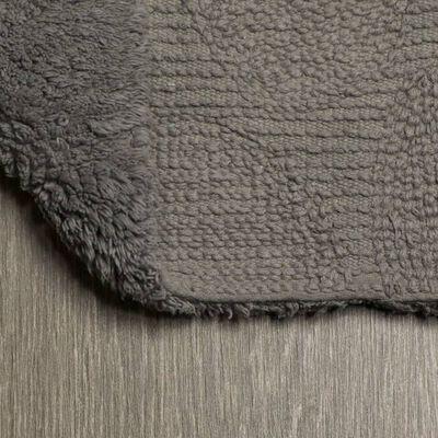 Sealskin Toalettmatta Pebbles bomull 50x60 cm grå