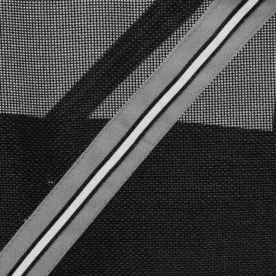 FLAMINGO Hundcykelvagn Romero grå 59,5x43x51 cm