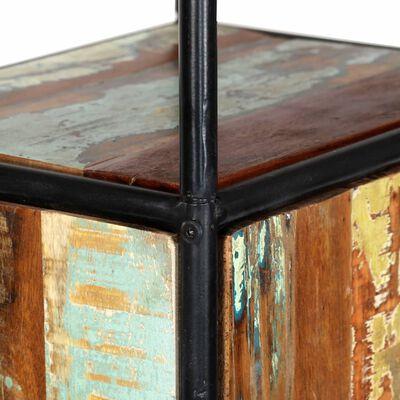 vidaXL Högskåp 40x30x180 cm massivt återvunnet trä
