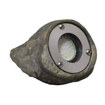 Luxform Trädgårdslampa LED Tatra sten grå