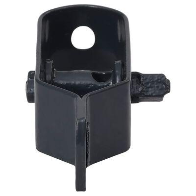 vidaXL Trådspännare 100 st 90 mm stål antracit
