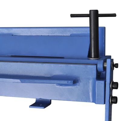 vidaXL Plåtfalsmaskin manuell 930 mm