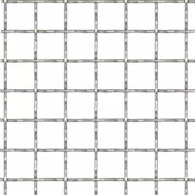 vidaXL Nätpanel rostfritt stål 50x50 cm 11x11x2 mm