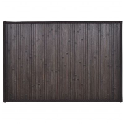 vidaXL Bambumattor 8 st 40x50 cm mörkbrun