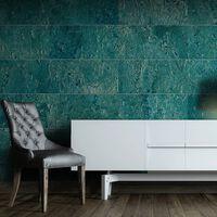 Fototapet - Blue Stones  - 50x1000 Cm,