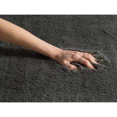 Matta lång lugg 200 x 300 cm mörkgrå EVREN