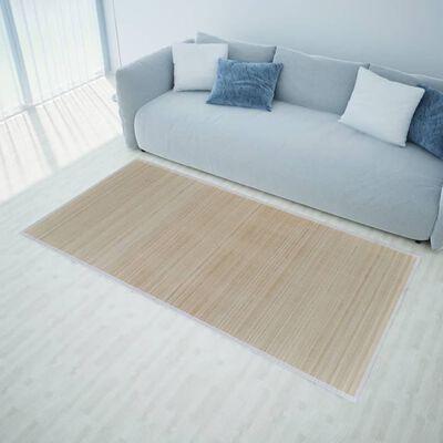 Fyrkantig Naturlig Bambumatta 80 x 300 cm