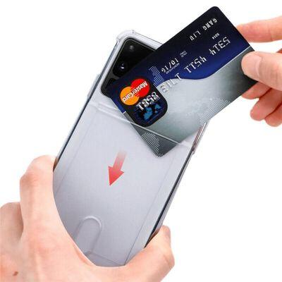 Silikon Skal Med Kortplats Samsung Galaxy S21 Plus