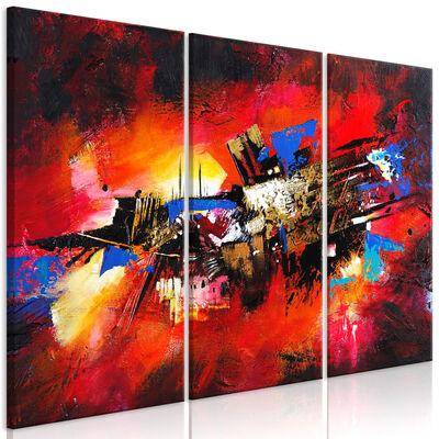Tavla - Colours Of Childhood (3 Parts) - 90x60 Cm