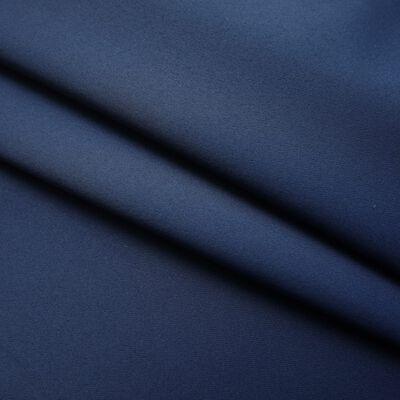 vidaXL Mörkläggningsgardiner med krokar 2 st blå 140x245 cm