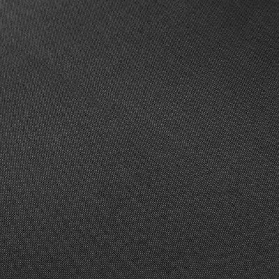 vidaXL 2-sitssoffa svart tyg