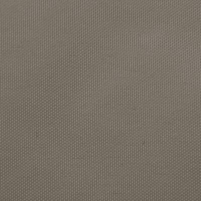 vidaXL Solsegel oxfordtyg rektangulärt 2x4 m taupe