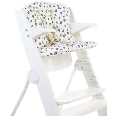 CHILDHOME Universell matstolsdyna jersey leopard