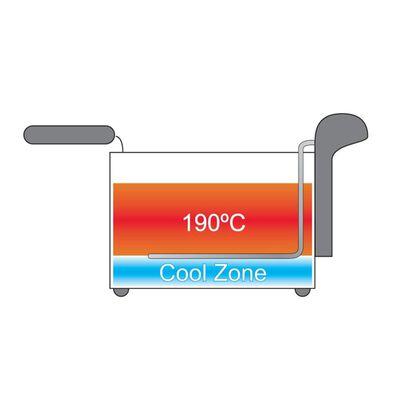 Bestron Fritös med kall zon 3,5 L 2000 W AF357B