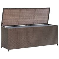 vidaXL Dynbox 120x50x60 cm konstrotting brun