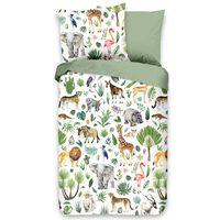 Good Morning Bäddset för barn JUNGLE 100x135 cm flerfärgat
