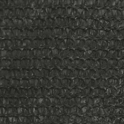 vidaXL Solsegel 160 g/m² antracit 3,5x5 m HDPE