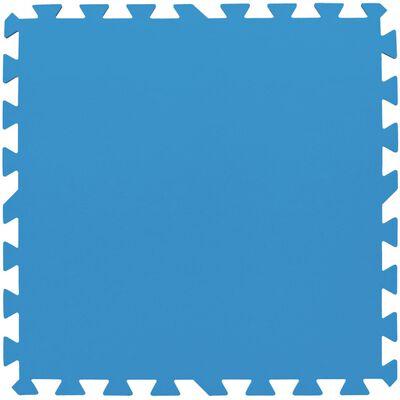 Bestway Skydd för poolgolv 8 st blå 58220