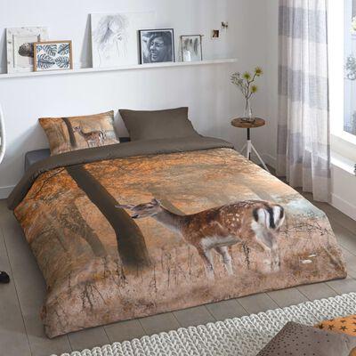 Good Morning Bäddset GAVIN 240x200/220 cm brun,