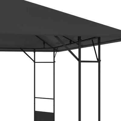 vidaXL Paviljong 4x3 m antracit 160 g/m²
