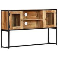 vidaXL TV-bänk 120x30x75 cm massivt återvunnet trä