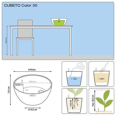 LECHUZA Odlingsenhet CUBETO Color 30 ALL-IN-ONE grafitsvart 13832