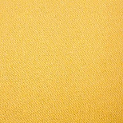vidaXL Soffgrupp 2 delar tyg gul