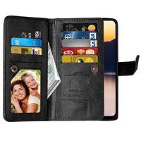 Dubbelflip Flexi 9-kort Nokia 2.3 (TA-1211) Svart